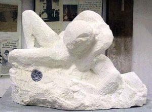 """""""Fusion"""", sculpture en cours de création"""