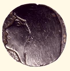 1958- Médaille en plomb