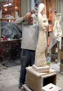 18/01/2007 - Vue d'ensemble de la sculpture