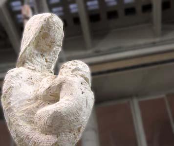 17/01/2007 - Détail de la sculpture religieuse