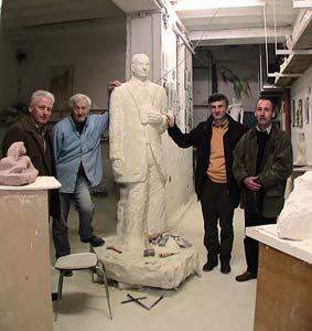 statue de M. Jean Moreau