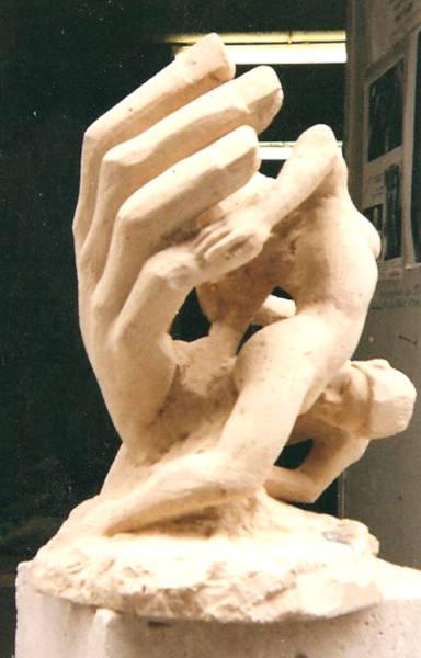 sculpture sur la genèse