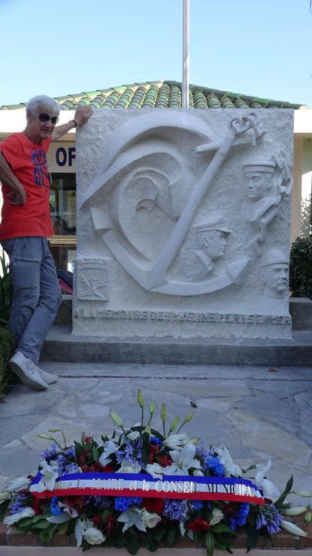La Stèle des Marins restaurée