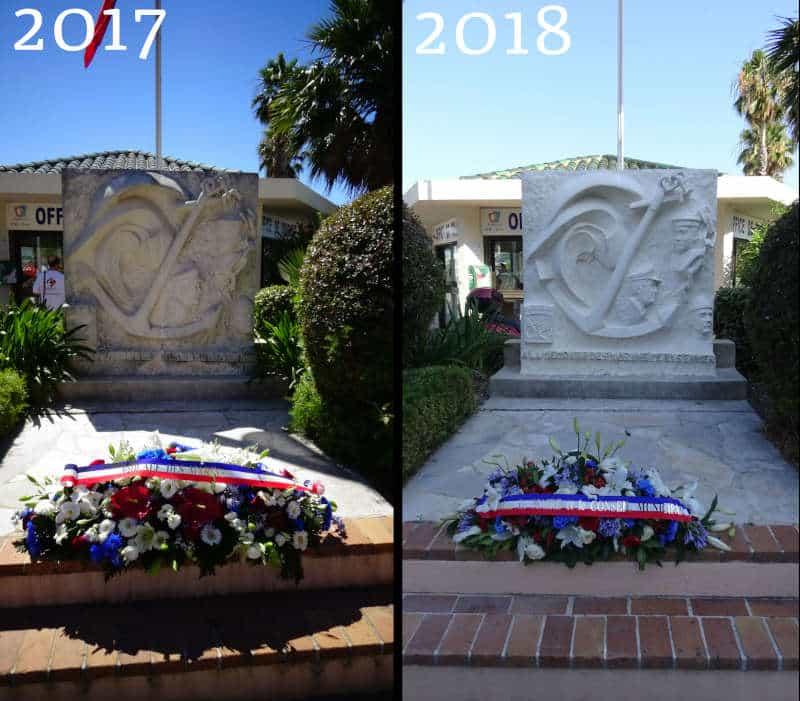 Restauration du Monument des Marins Péris en Mer