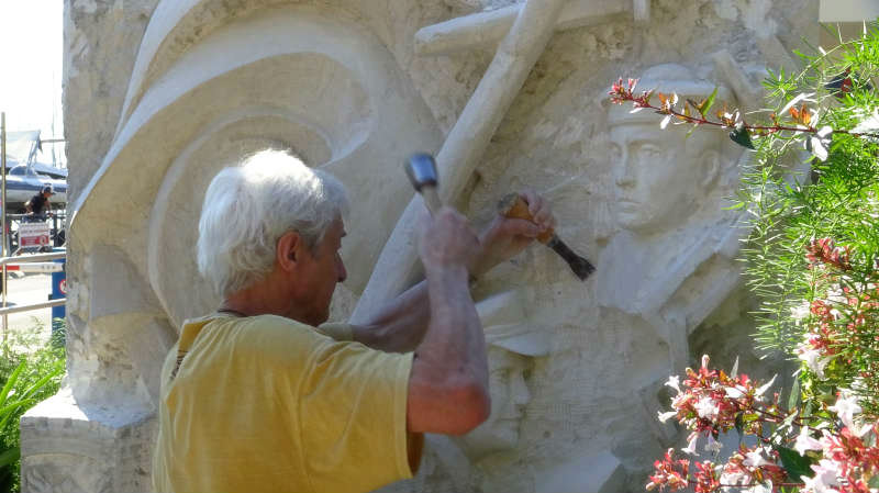 Restauration : la sculpture du monument