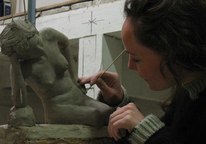 se former à la sculpture