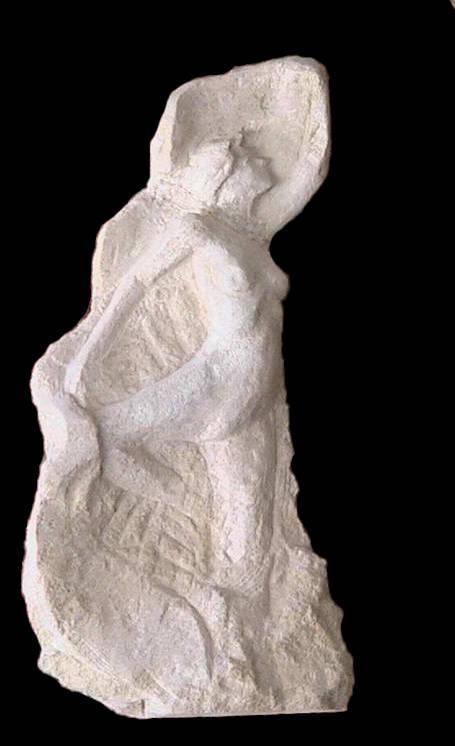 Petit bas-relief en pierre