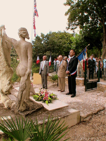 Les cérémonies du Débarquement de Provence