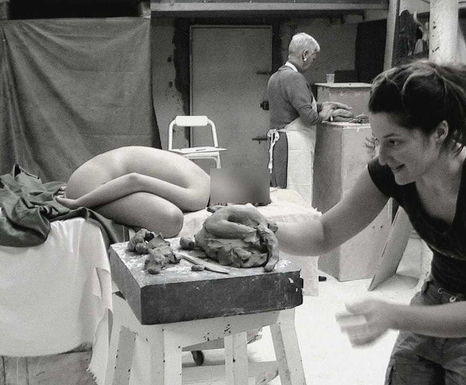 cours de sculpture d'après modèle vivant