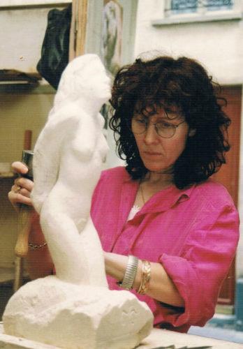 Kate étude l'anatomie artistique