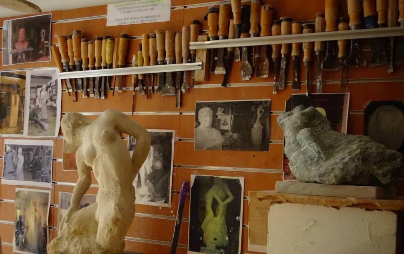 outils pour la sculpture